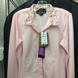Girl's Ariat Show Shirt
